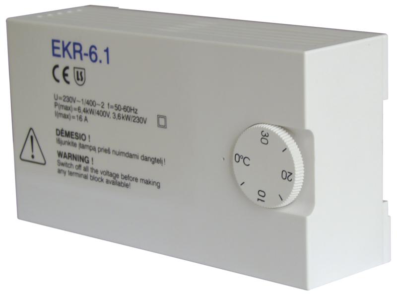 Регуляторы мощности электрических нагревателей EKR 6,1