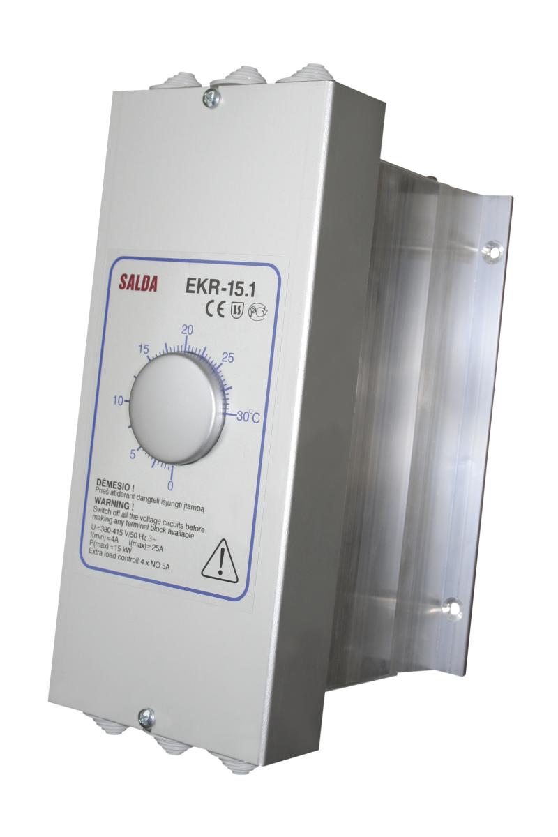 Регуляторы мощности электрических нагревателей EKR 15.1 и EKR 15.1 P