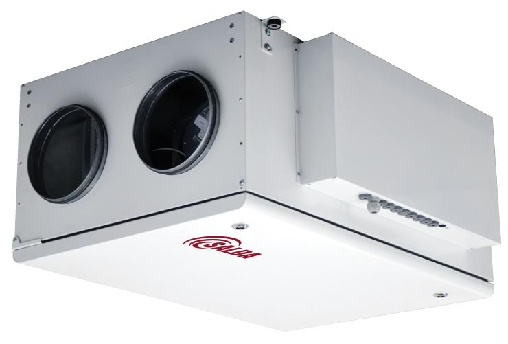 Компактные приточно-вытяжные установки с роторным рекуператором (подвесное исполнение) RIRS P EKO 3.0