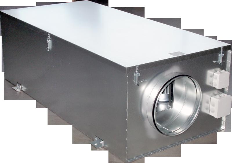 Компактные приточные установки с электрическим нагревателем VEKA