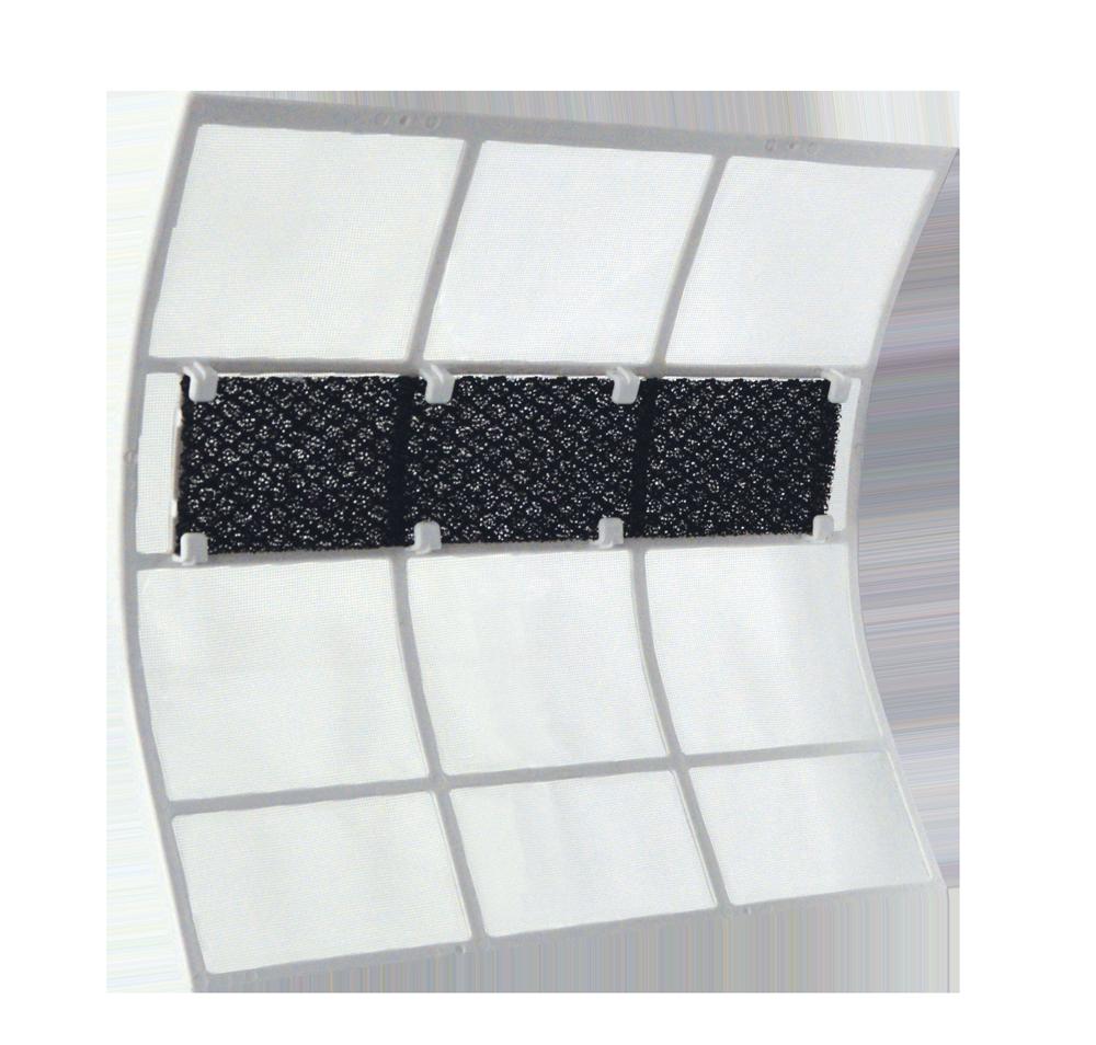 Carbon sponge filter
