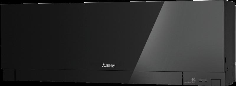 Кондиционер с инвертором настенный внутренний блок серии Дизайн (чёрный)