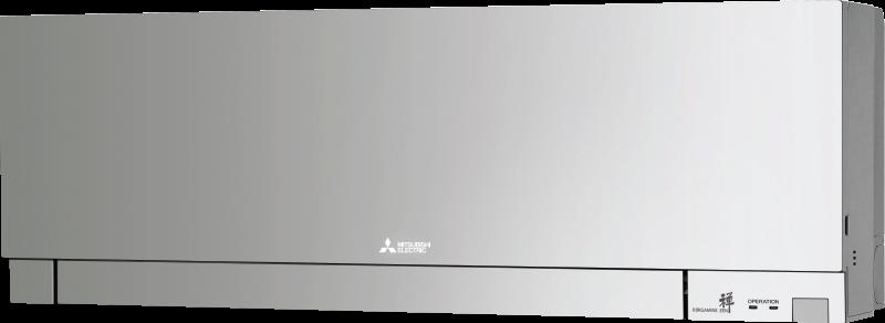 Кондиционер с инвертором настенный внутренний блок серии Дизайн (серебристый)