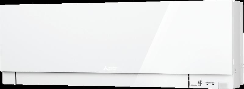 Кондиционер с инвертором настенный внутренний блок серии Дизайн (белый)