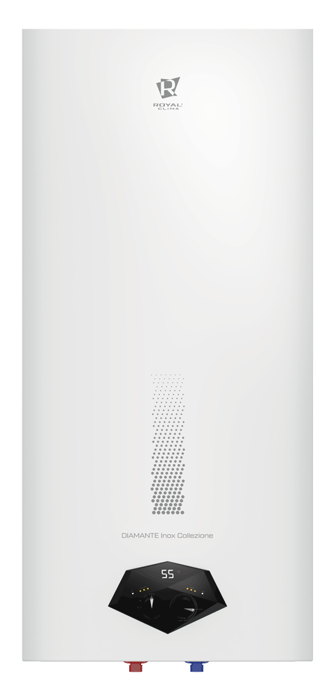 Электрический водонагреватель накопительного типа cерии DIAMANTE Inox Collezione