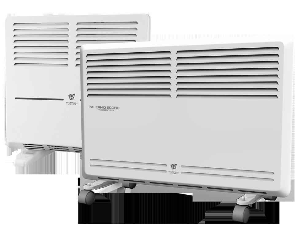 Электрические конвекторы серии PALERMO Econo Meccanico