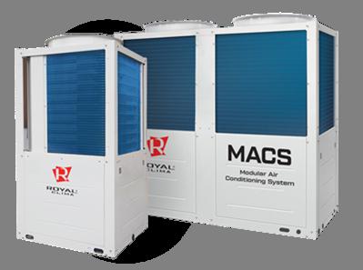 Модульные чиллеры MACS-O