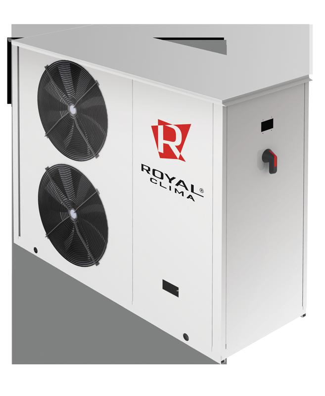 Чиллеры и тепловые насосы с воздушным охлаждением конденсатора PICCOLO