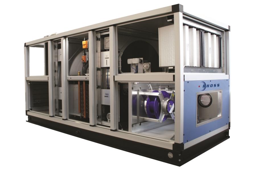Каркасно-панельные установки и центральные кондиционеры RHOSS CTA ADV