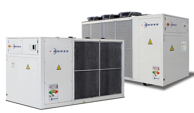 Конденсаторы с воздушным охлаждением Y-Pack SE/HE