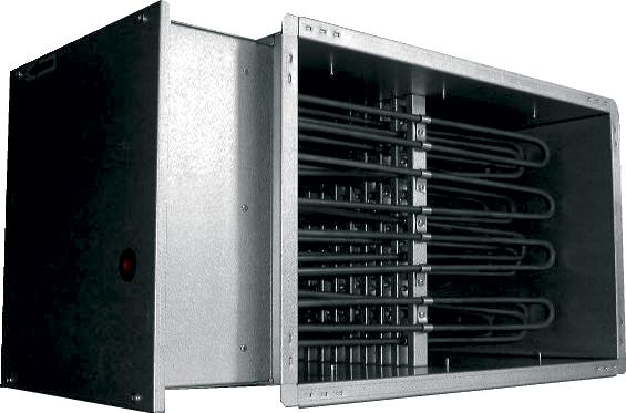 Электрические канальные нагреватели EKS