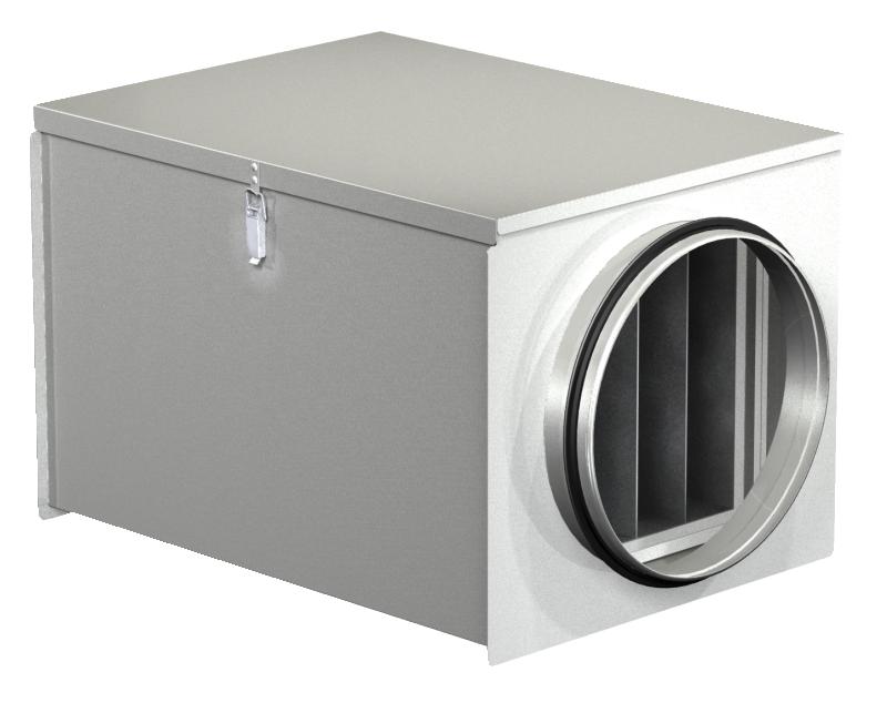 Фильтр-боксы с фильтром для круглых воздуховодов FDI