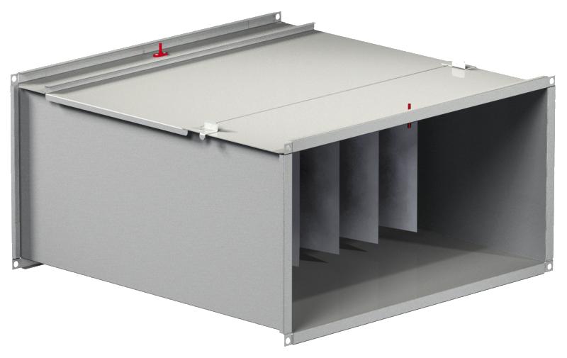 Фильтр-боксы карманного типа (корпус) для прямоугольных воздуховодов  FDS