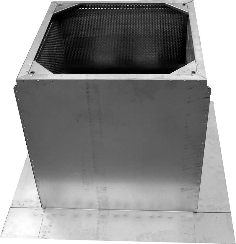 Крышные короба для монтажа на плоской кровле KS-K