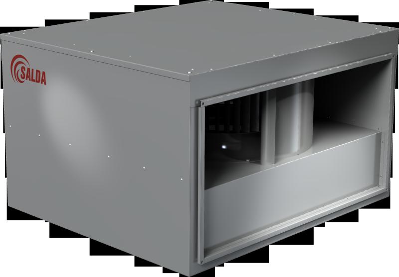 Прямоугольные канальные вентиляторы в изолированном корпусе VKSA