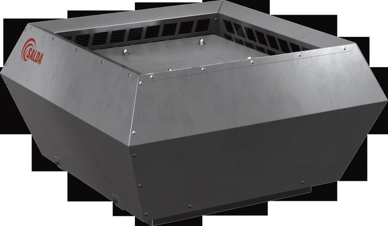 Крышные вентиляторы с вертикальным выбросом воздуха в изолированном корпусе с ЕС-электродвигателями VSVI EKO