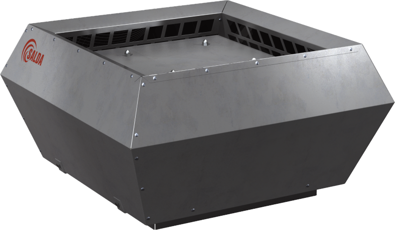Крышные вентиляторы в изолированном корпусе с вертикальным выбросом воздуха VSVI