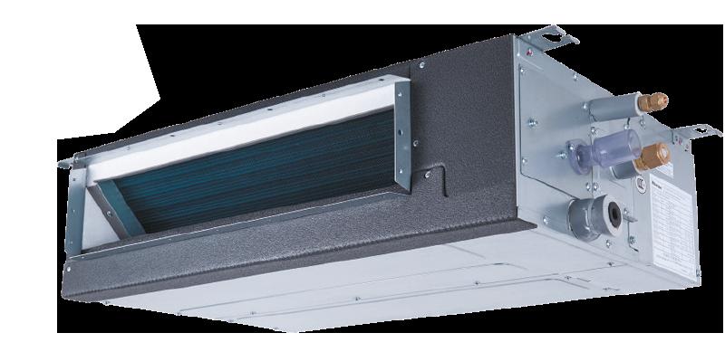 Тонкие внутренние блоки канального типа с DC-вентилятором VRF-систем