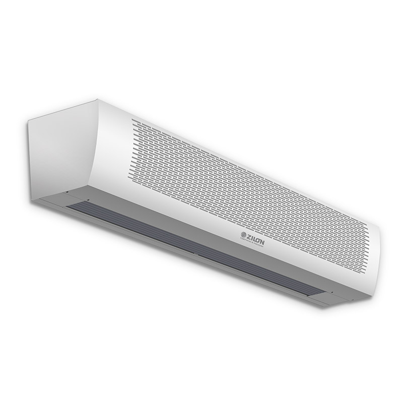 Тепловые завесы серии Заслон ZVV-HP с электрическим нагревом