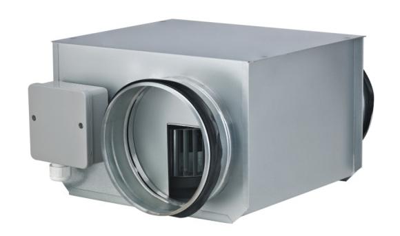 Компактные канальные вентиляторы ZFOKr