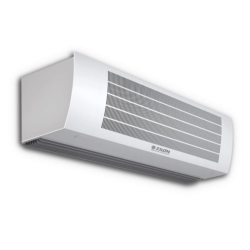 Тепловые завесы серии Гольфстрим ZVV-W с водяным нагревом