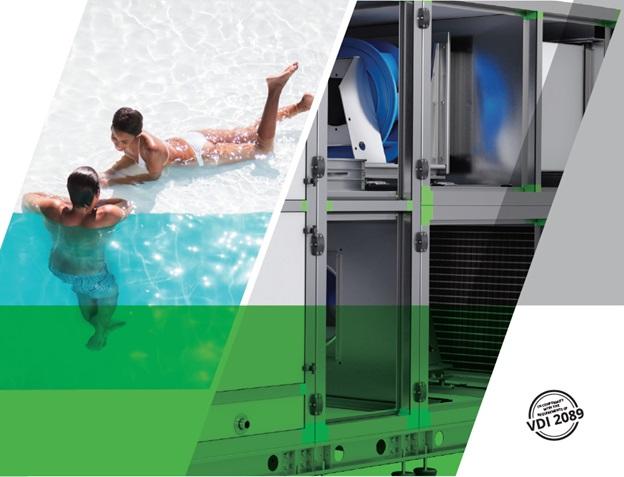 AmberAir Pool – новая серия модульных установок для вентиляции бассейнов от SALDA