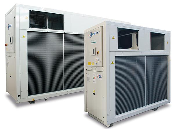 Чиллеры и компактные тепловые насосы низкого потребления Y-Pack C-PF  TCCETY-THCETY