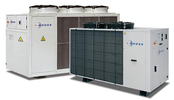 Компрессорно-конденсаторные агрегаты MCAEBY