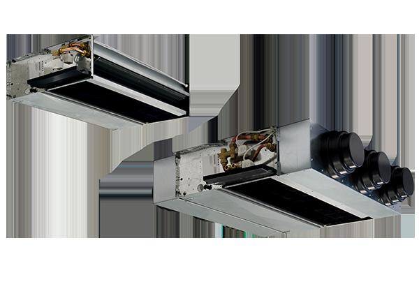 Фанкойлы канального типа с бесколлекторным электродвигателем серии YARDY-ID2